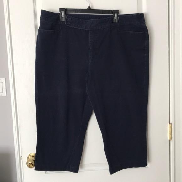 e469247dcb504 Chaps Pants - Chaps Women s Plus Size Capri